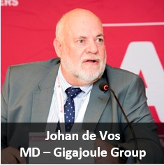 Johan de Vos - MD, Gigajoule Group (titled)